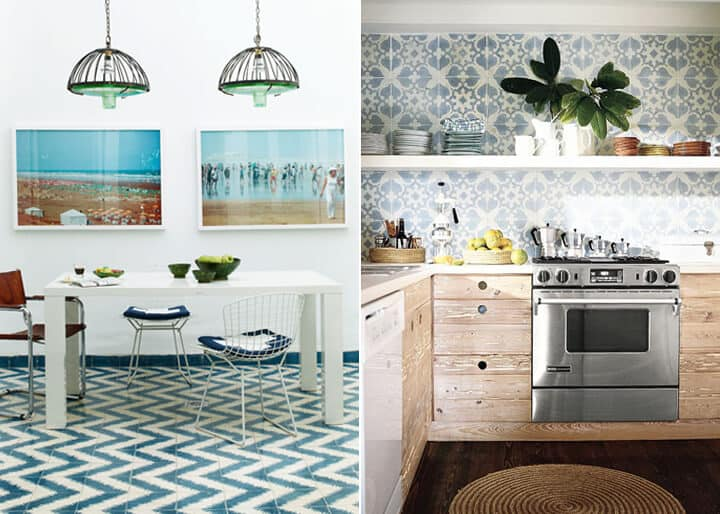 Kitchen Trends_Emily Henderson_Flooring_Cement Tiles 1