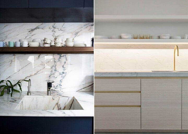 Kitchen Trends_Emily Henderson_Marble