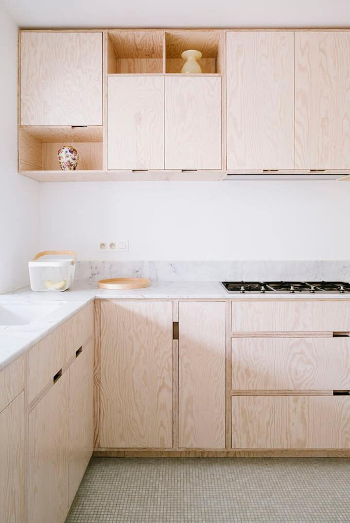 Kitchen Trends_Emily Henderson_Plywood Kitchen Cabinets1