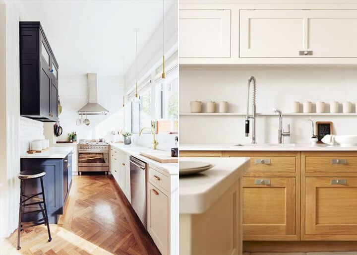 Kitchen Trends_Emily Henderson_Two Tone Kitchen Cabinets