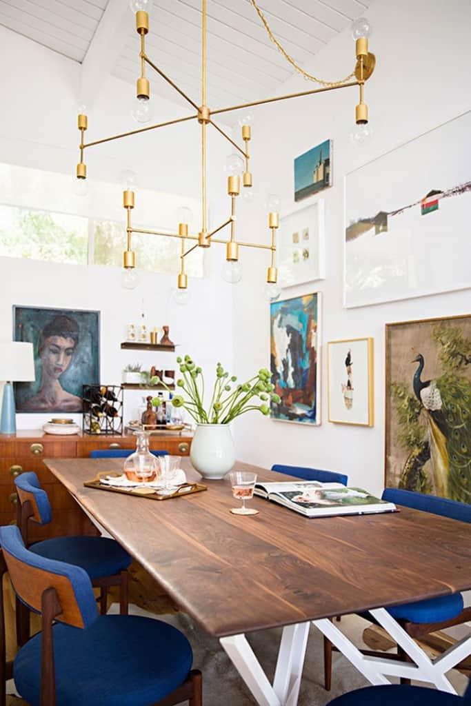 My Biggest Design Regrets_Emily Henderson Dining Room_Chandelier