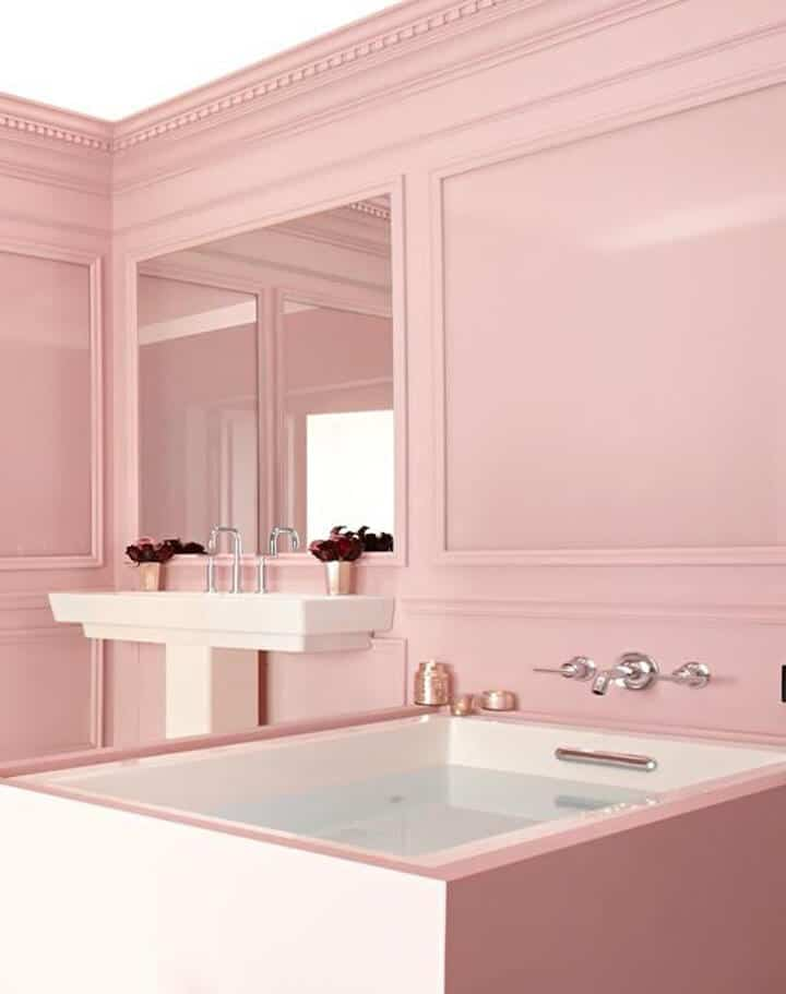 Blush Pink Bathroom_Inspiration_Modern_Pink_blush_feminine_bathroom 1