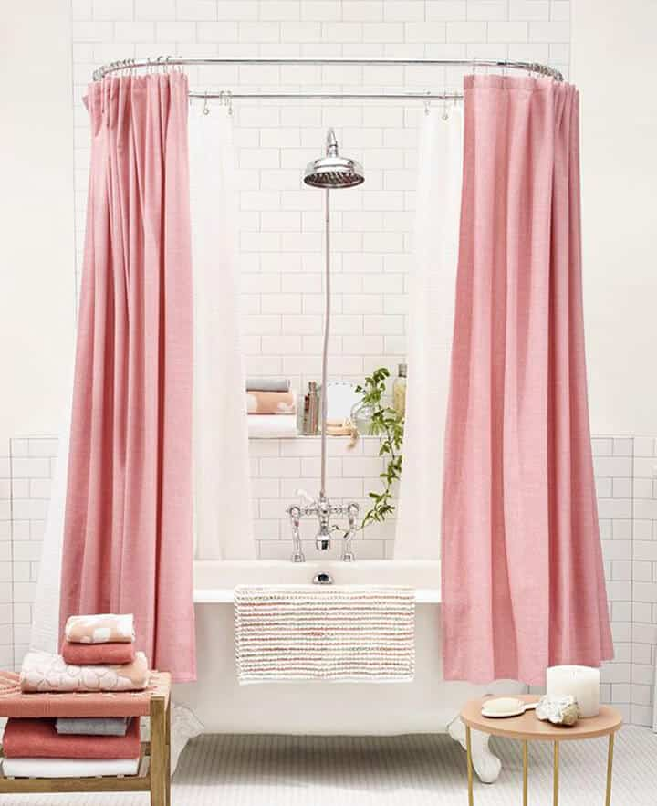 Blush Pink Bathroom_Inspiration_Modern_Pink_blush_feminine_bathroom 2