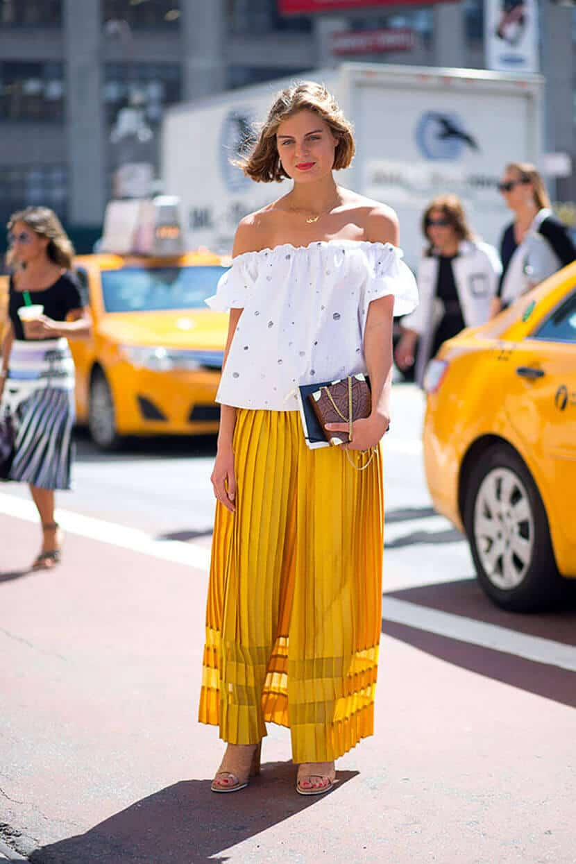 Buttercup Yellow Fashion Trend 2016