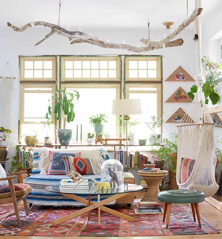 BOHEMIAN LIVING AND OTHER THINGS: BOHEMIAN INTERIOR OF THE DAY... UN ...