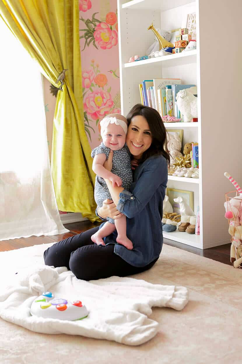Girls Lulu & Georgia Nursery Makeover Sara Sugarman