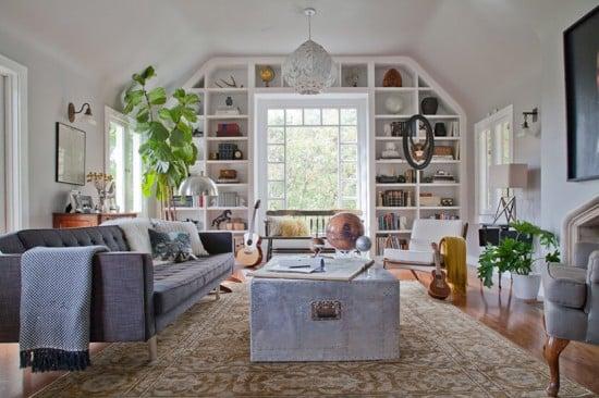 Ian Brennans House Living Room Emily Henderson