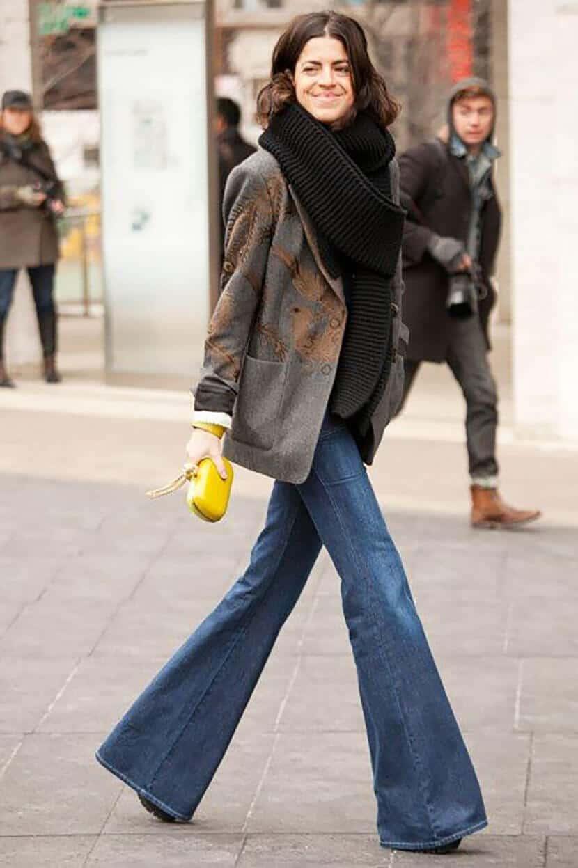 Manrepeller Yellow Fashion Clutch