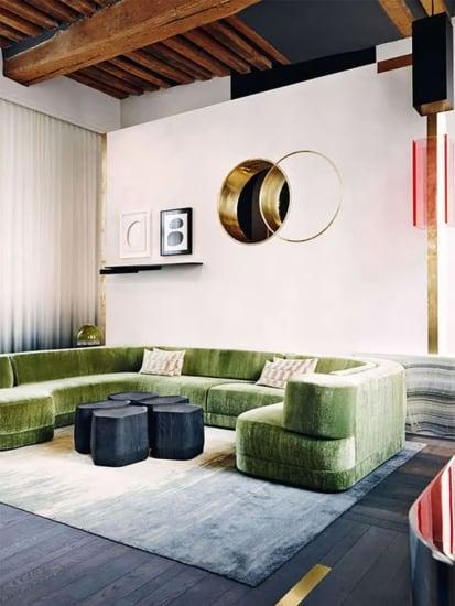 Mod_Green_Velvet_Sofa