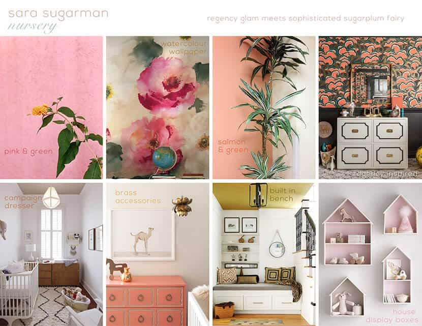 Sara Sugarman Nursery Moodboard