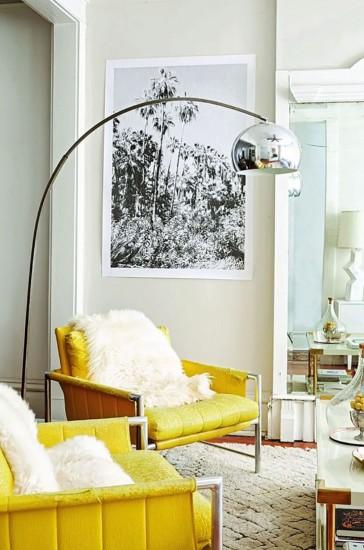 lemon yellow chairs
