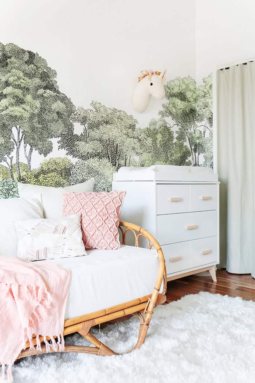 Emily Henderson Bright Whimsical Nursery