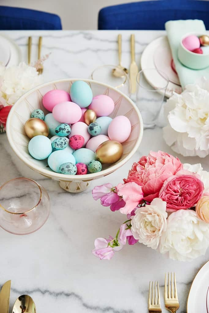 Emily Henderson Easter Brunch Decor