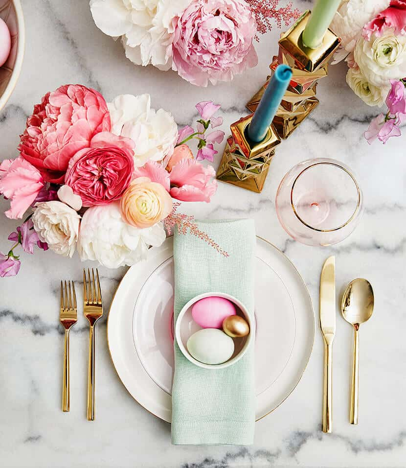 Emily Henderson Easter Table Setting