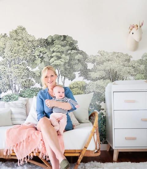 Emily Henderson Elliot Baby Girl Nursery