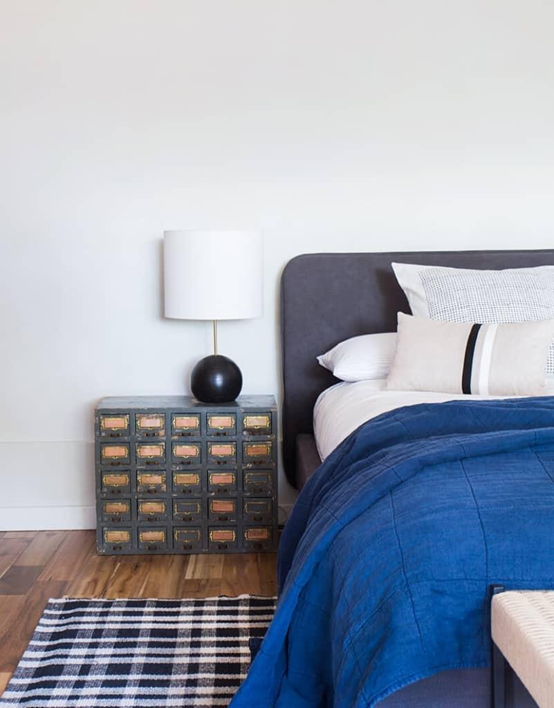 Emily Henderson Neutral Masculine Bedroom