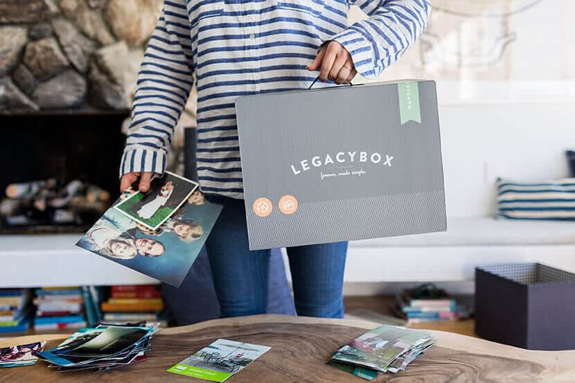 Emily Henderson Preserving Family Photos With Legacy Box