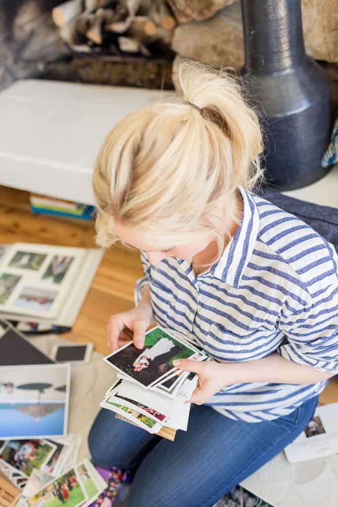 Emily Henderson Saving Old Photos