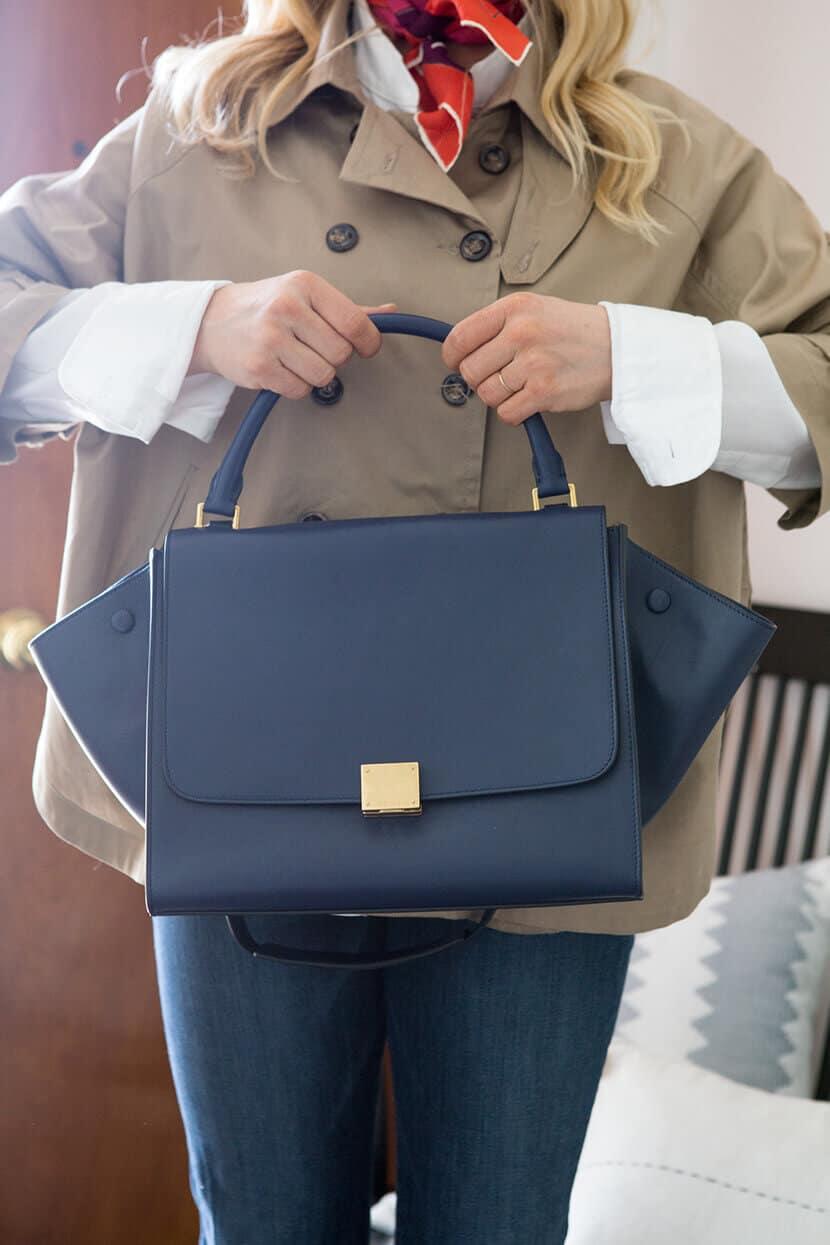 Emily Henderson Vintage Celine Bag Trendlee