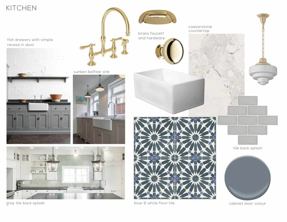 graphic cement tile