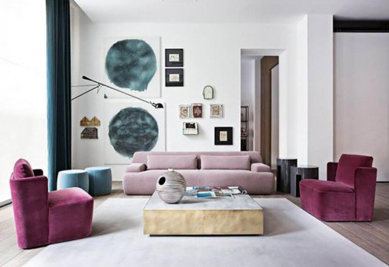 Lavender Pink White Color Trend Emily Henderson 12