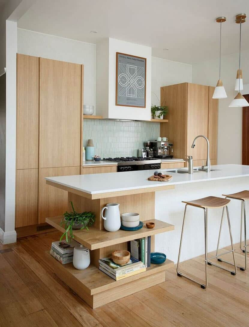 Minimal Modern Bright Kitchen