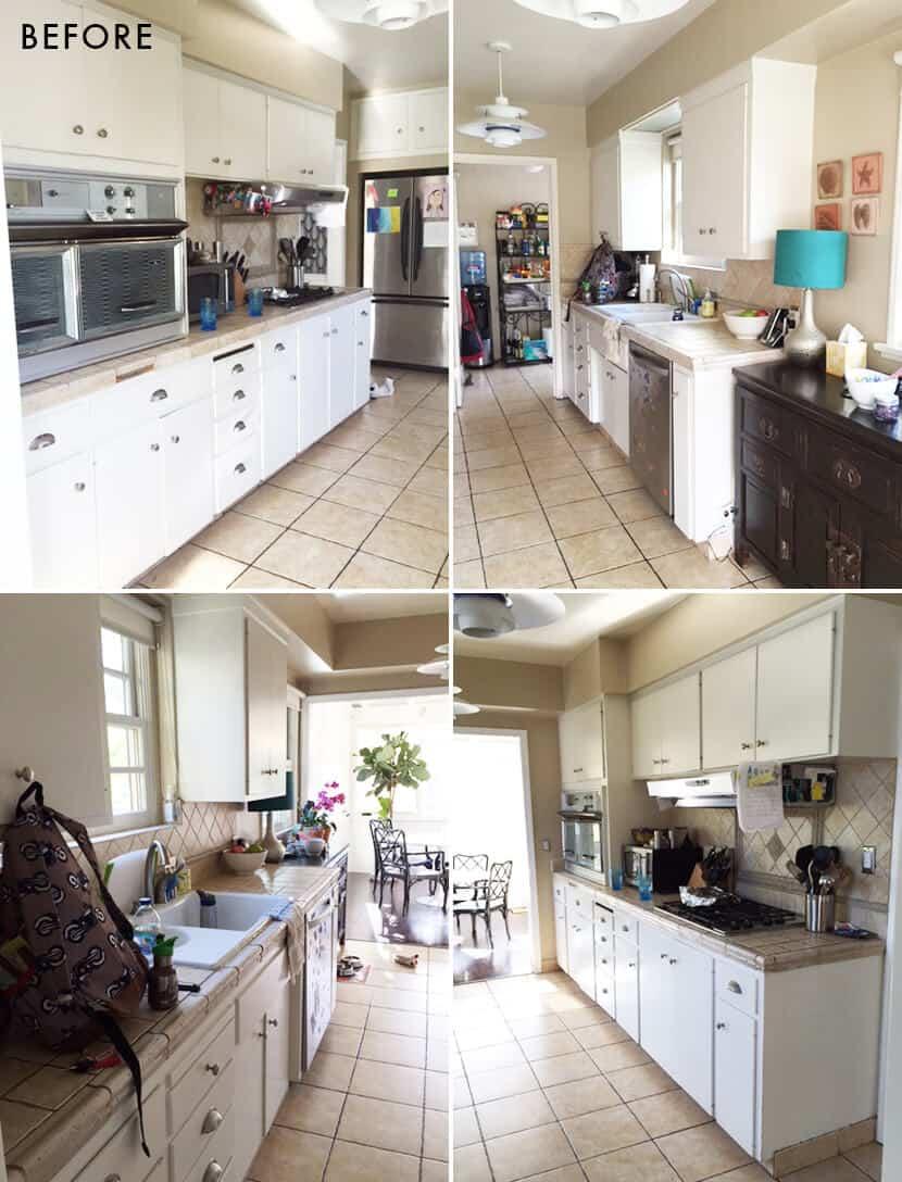 Lorey's kitchen before