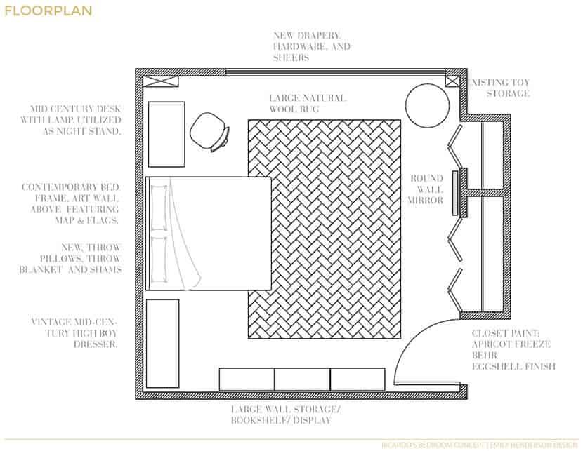 Ricardo Revised Floorplan