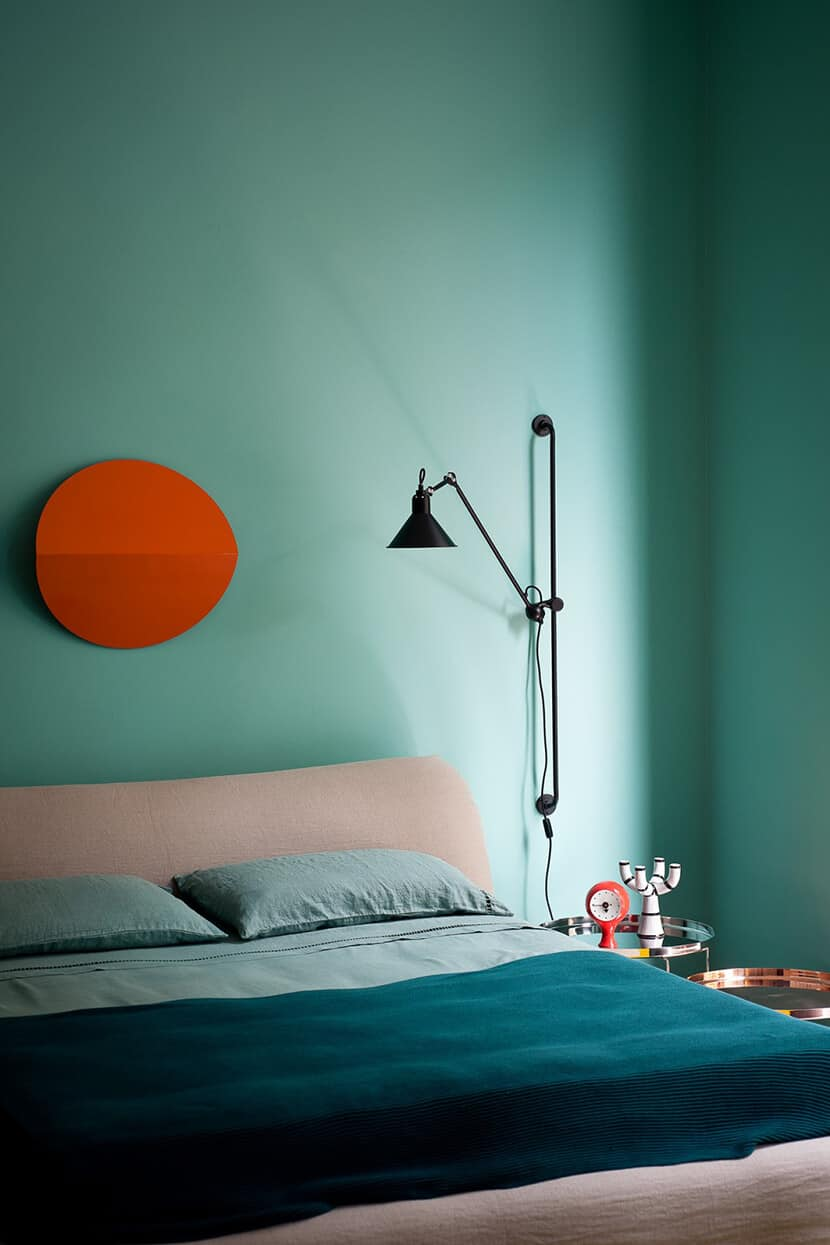 Color Trend Emerald and Teal Room Decor 2