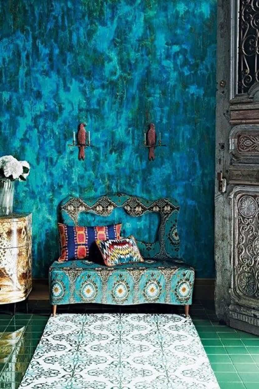 Color Trend Emerald and Teal Room Decor 3