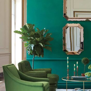 Color Trend Emerald and Teal Room Decor 4
