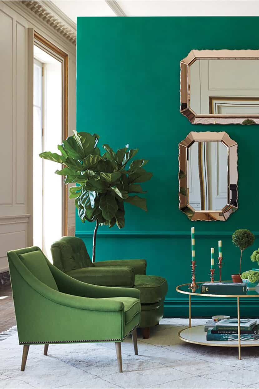 Color Clash : Emerald and Teal | Emily Henderson | Bloglovin\'