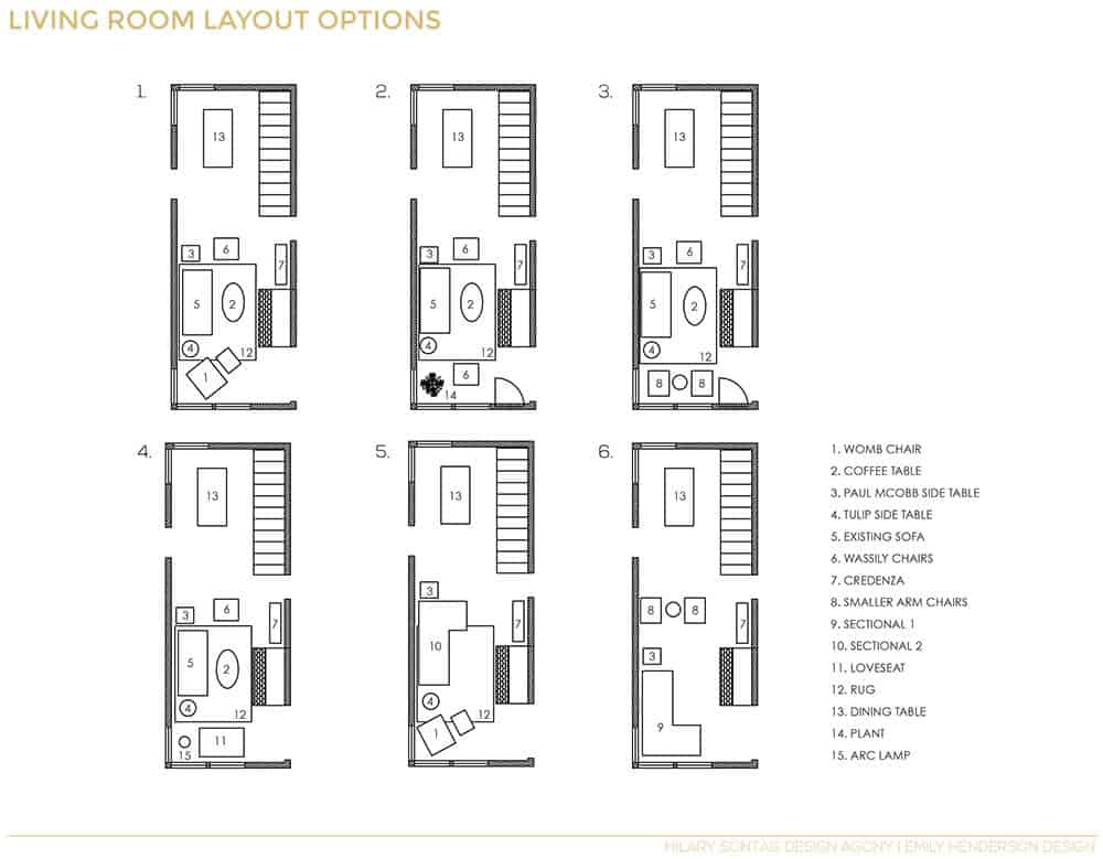 How To Lay Out A Narrow Living Room Emily Henderson