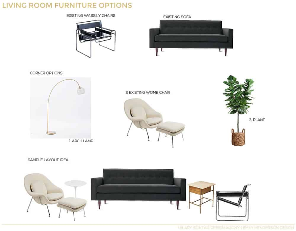 How To Lay out A Narrow Living Room | Emily Henderson ...