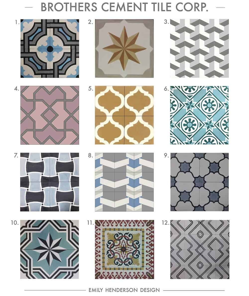 Where To Buy Cement Tiles Emily Henderson Bloglovin - Faux encaustic tile