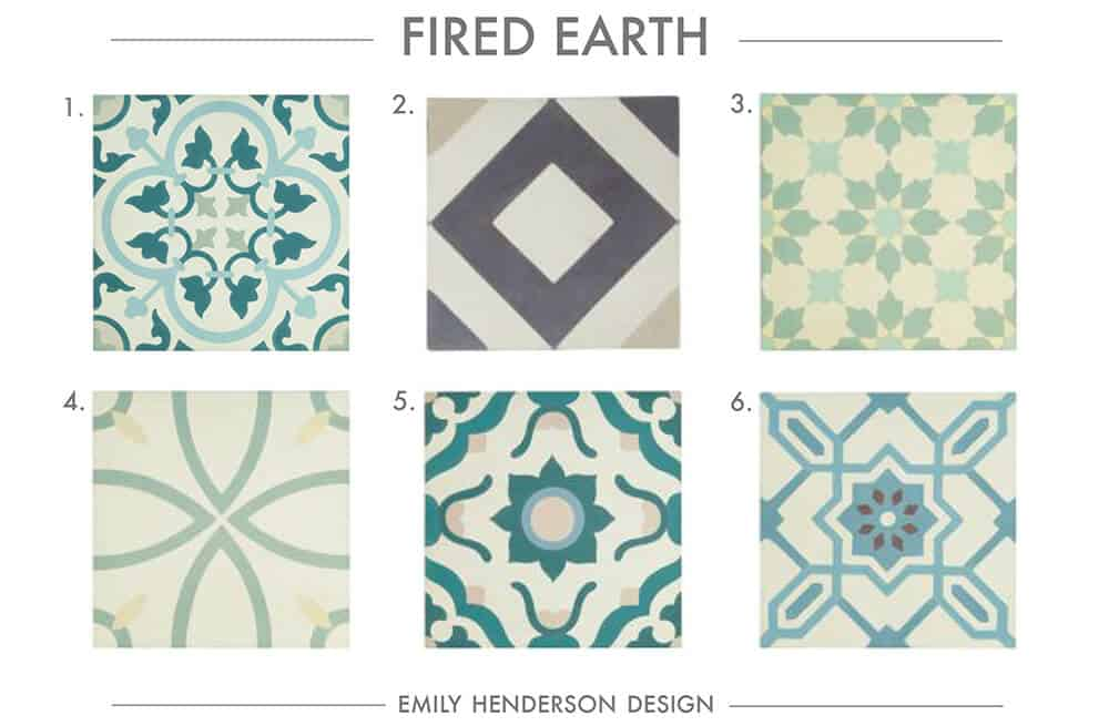Cement Tile RoundUp Fired Earth Patterned Tiles Emily Henderson