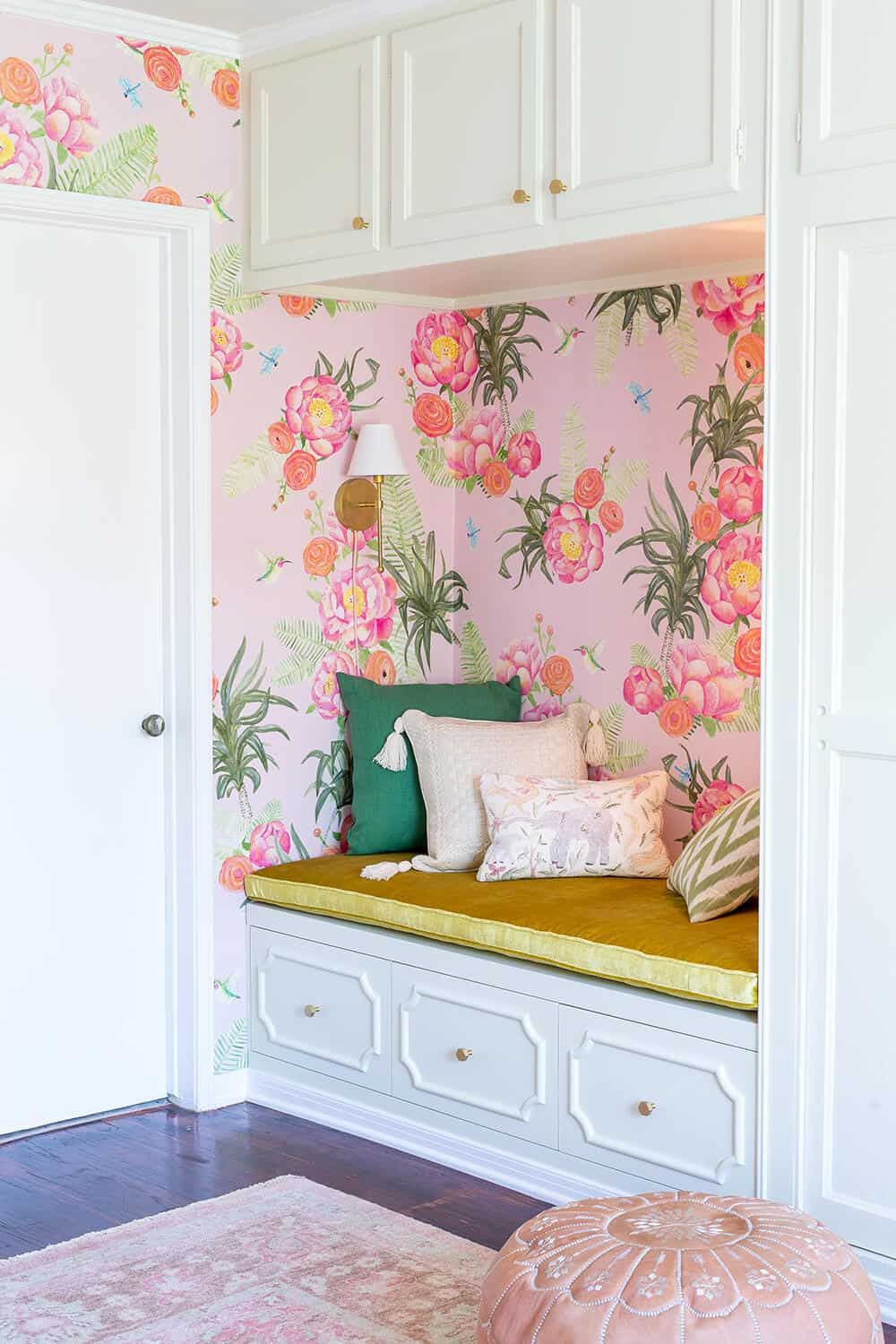 Design Mistakes Who Pays For Them Girls Pink Nursery Bench 1