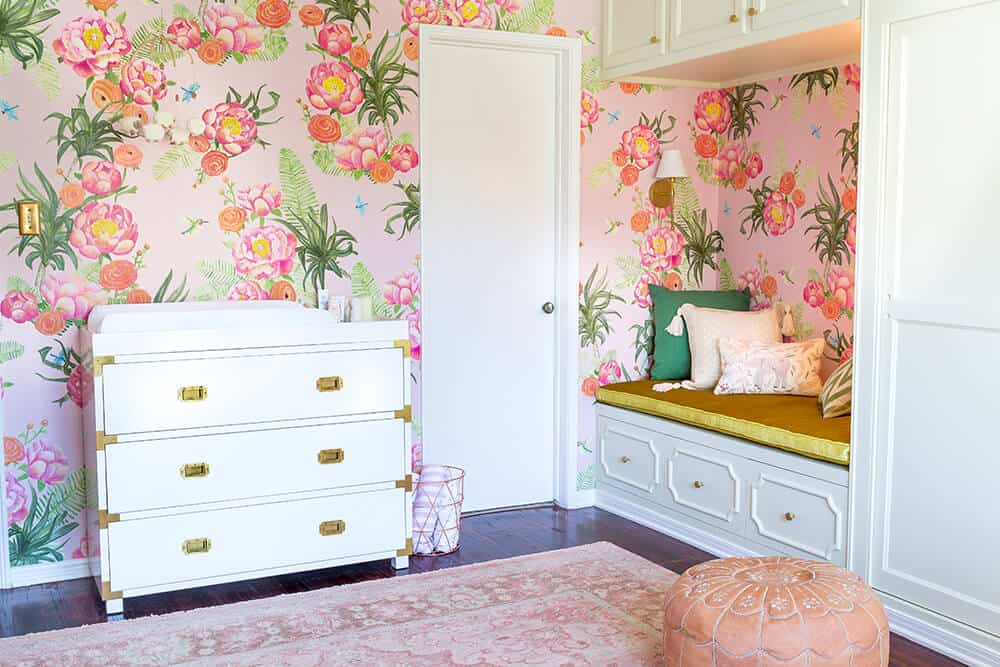 Design Mistakes Who Pays For Them Girls Pink Nursery Bench 2