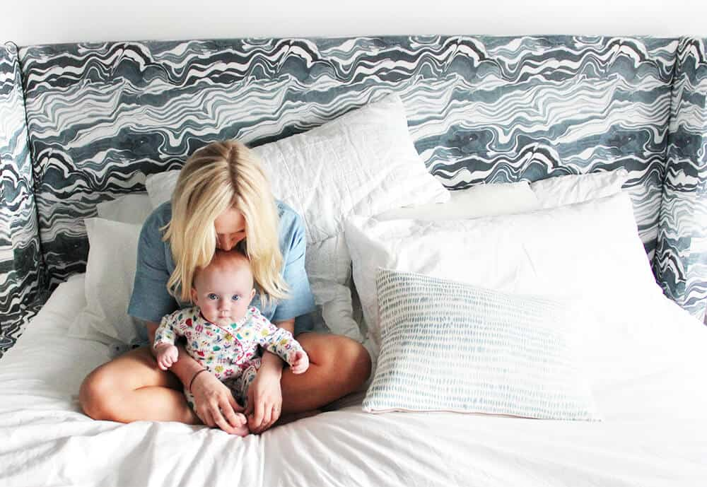 How I Got My Baby To Sleep Through The Night - Emily Henderson