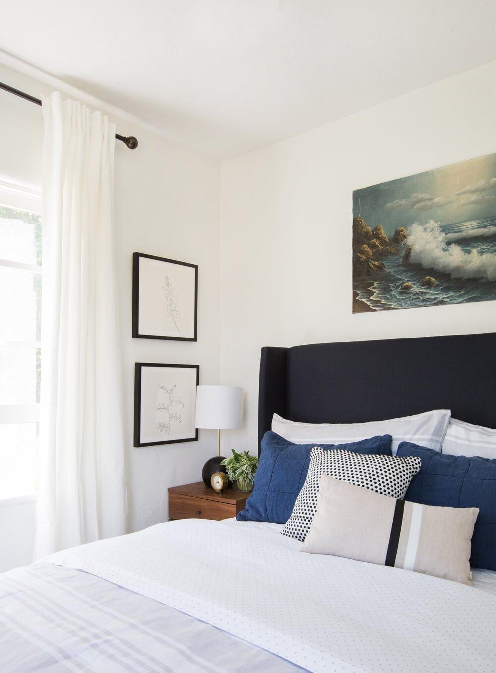 Haiku Fan Guest Bedroom Interior Makeover-5
