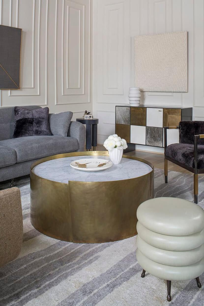 Matte Brass Houseware Roundup Furniture Lighting Accessories 2