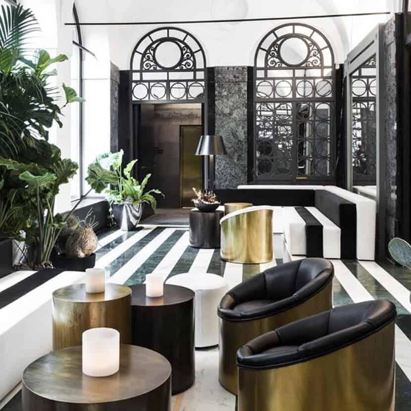 Matte Brass Houseware Roundup Furniture Lighting Accessories 5