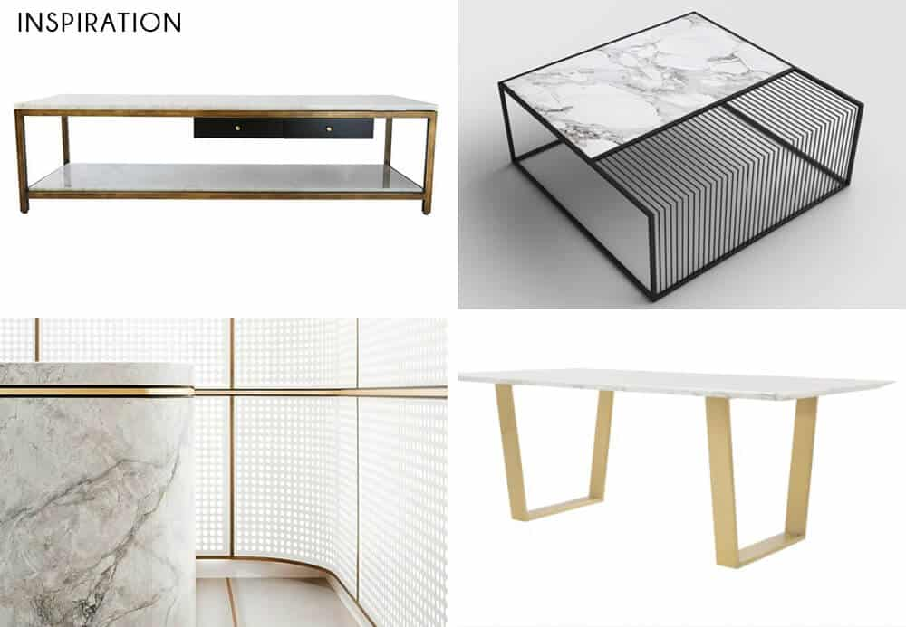 Adrienne desk_ inspiration_ marble desk_brass inlay desk_custom desk_DIY