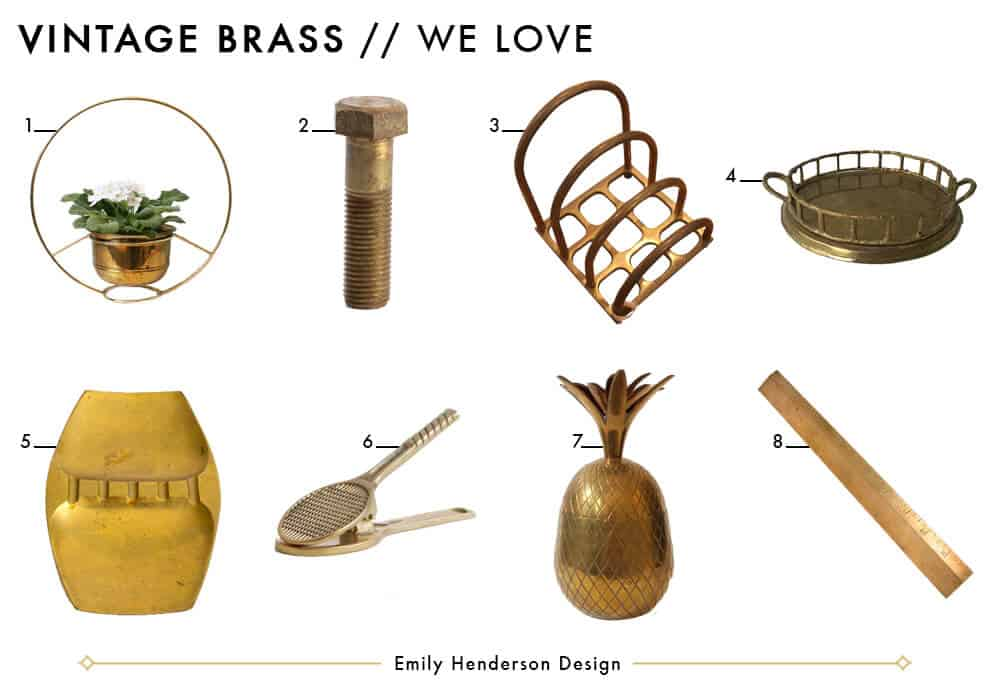 Brass Objects We Love