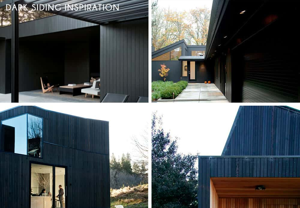 DARK SIDING_emily henderson_home exterior progress_