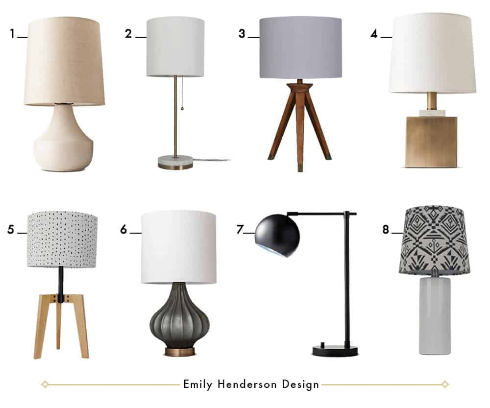 Lamp For Your Dresser A Roundup