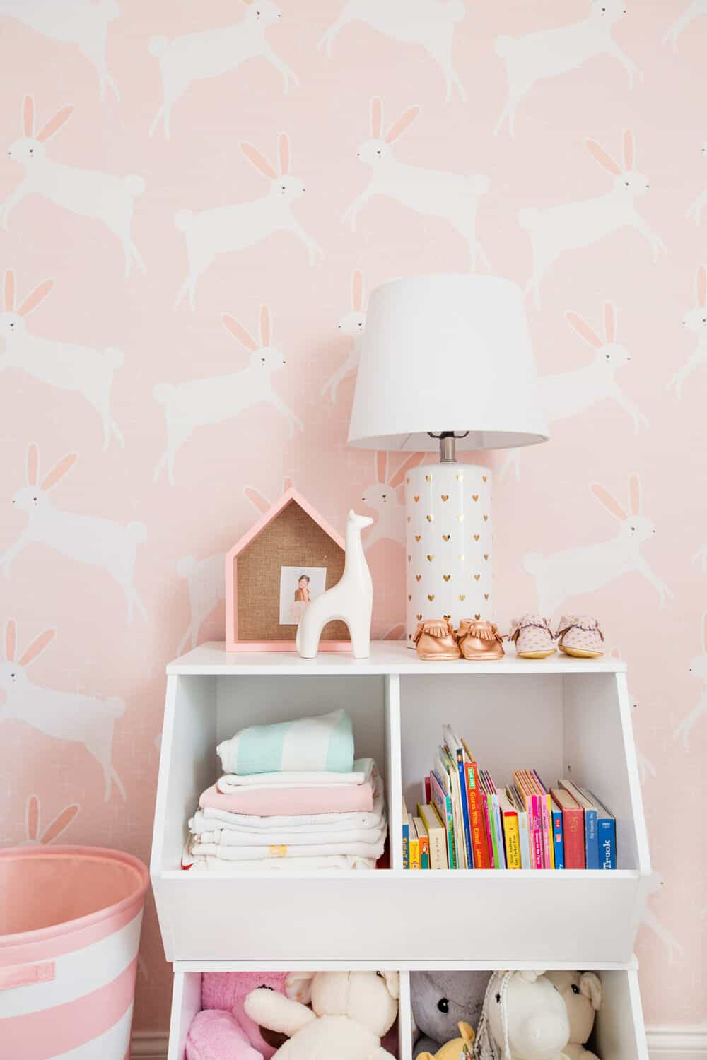 Emily Henderson Pillowfort Target Nursery Makeover Baby Girl Pink-42