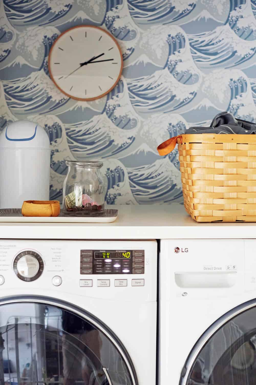 Laundry Room_Emily Henderson_Big Wave Wallpaper_Blue_LG_Detail_5