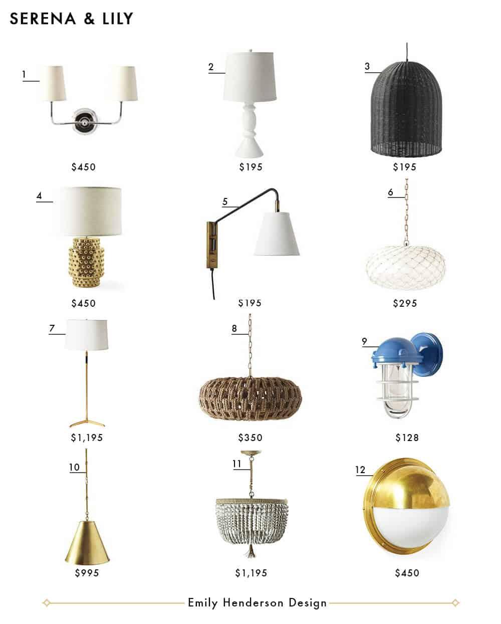 Emily Henderson In: My Favorite 37 Online Lighting Resources