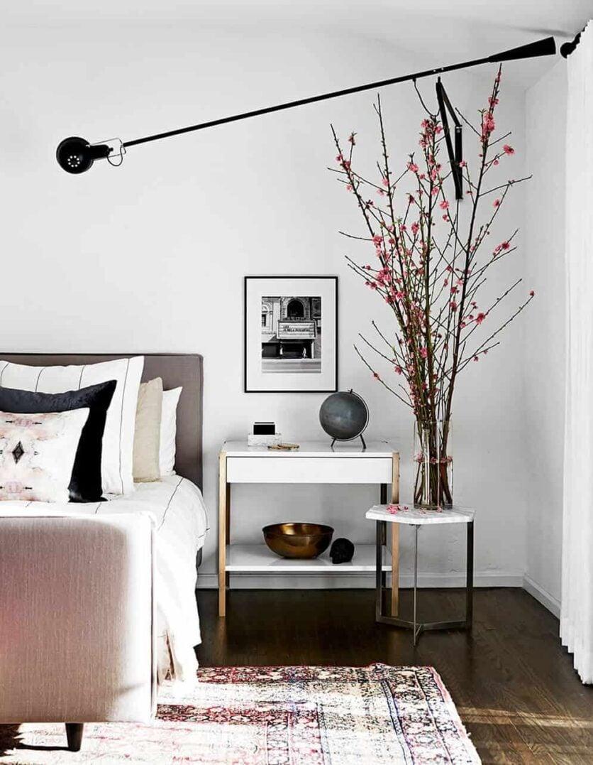 bedroom_blush_pink_flos light_emily henderson